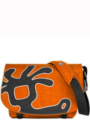 Crumpler Cheesy Disco Messenger Orange/Grey