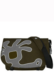 Crumpler Cheesy Disco Messenger Mosse/Grey