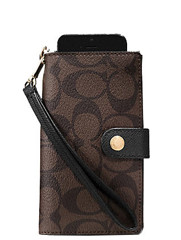 Coach F53311 Case Phone Brown
