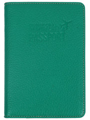 Nemtrecha Passport Case Leather Green