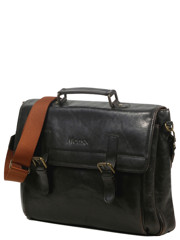 Monsac Genius Leather Bag Black