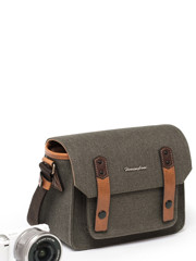 Herringbone Papaspocket 3 Mini (S) Olive