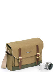 Herringbone Postman Medium (M) Khaki