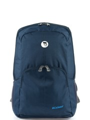Mikkor The Burgess Backpack (M) Navy