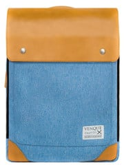 Venque Flatsquare Backpack Mini (M) Denim
