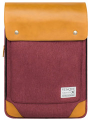 Venque Flatsquare Backpack Mini (M) Red