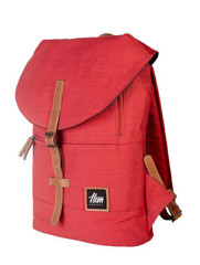 Hem Concept Mono Backpack Red/Tan Leather
