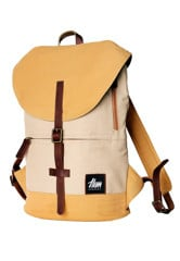 Hem Concept Mono Backpack Waxed Kaki