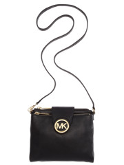 Michael Kors Fulton Farge Crossbody Black