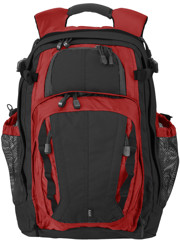 5.11 Tactical Covrt 18 Laptop Backpack (M) Black/Red
