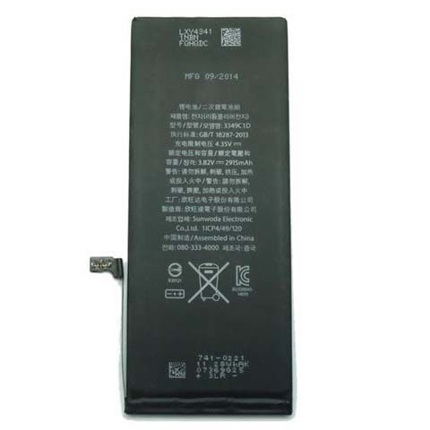 PIN ĐT IPHONE 6 PLUS-2915MAH- LOAI 1