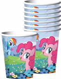 Ly giấy My little Pony 8/gói -  My little Pony paper cups 8/pack
