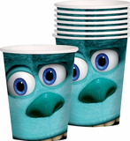 Bộ ly giấy Monsters Inc. - Monsters Inc. paper cups (8pcs)