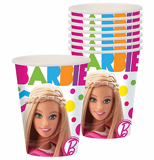 Ly giấy Barbie - Barbie paper cups (8pcs)