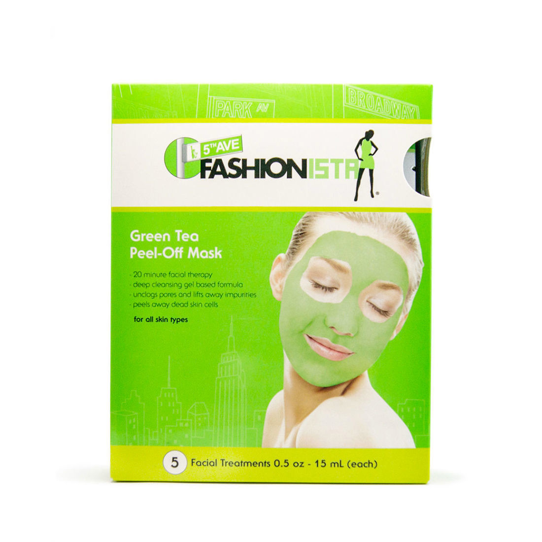 Green Tea Peel-Off Mask (5pcs)