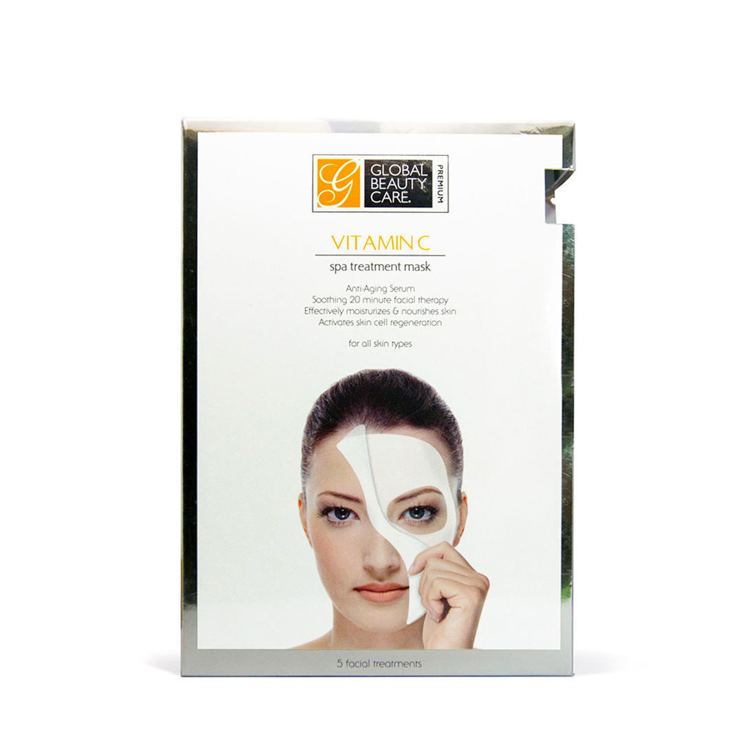Vitamin C- Spa treatment mask - 5pcs
