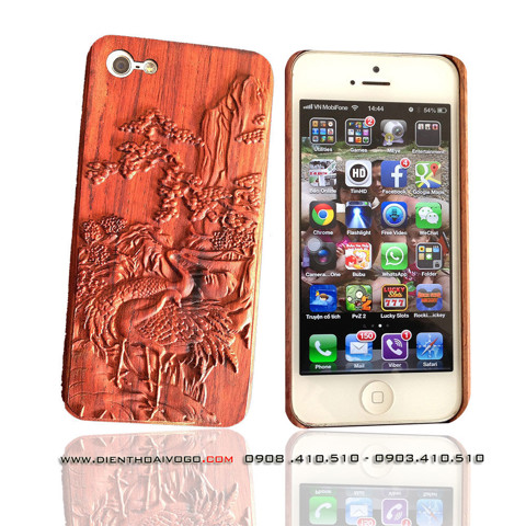 Case gỗ 3D Iphone5/5s