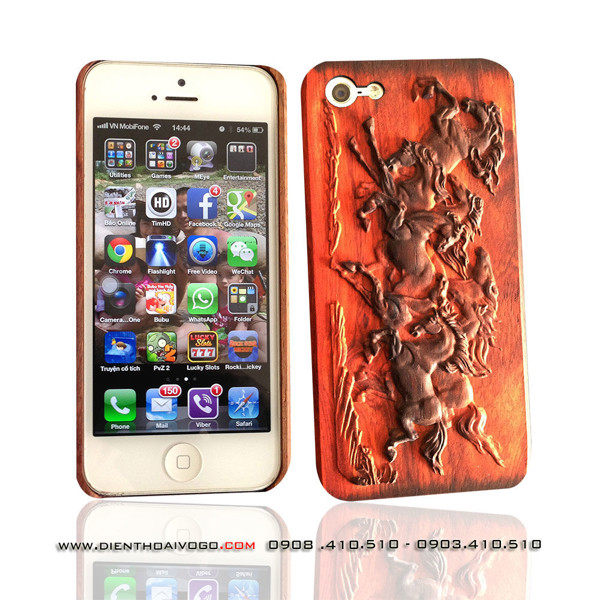 Case gỗ 3D iphone5