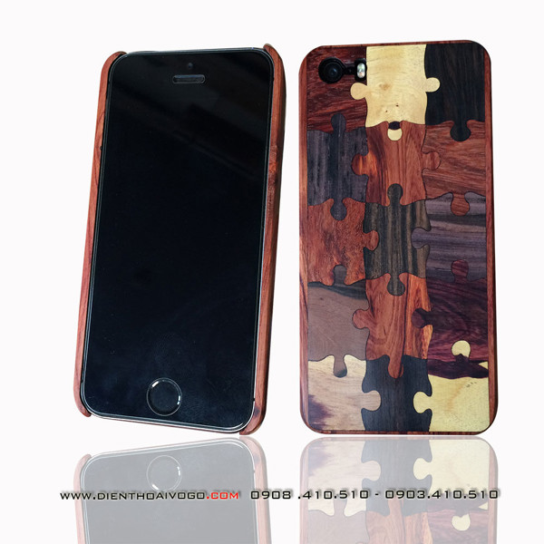 Case gỗ Iphone SE