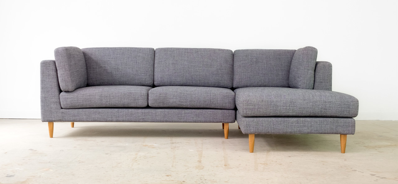 Sectional sofa.