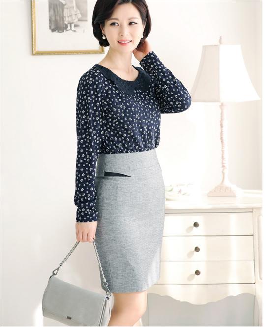 Image result for trang phục công sở nữ trung niên