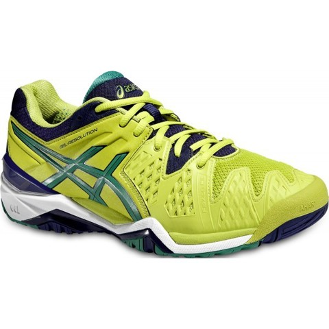 ASICS GEL RESOLUTION 6 LIME/GREEN/BLUE (E500Y-0588)