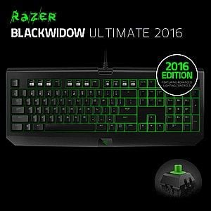 Bàn phím Razer Blackwidow Ultimate 2016 - Green Sw