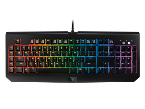 Bàn phím Razer Black­Widow Chroma