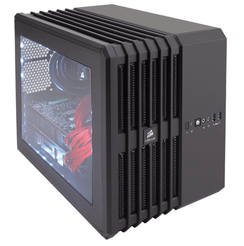 Carbide Series® Air 540 Arctic High Airflow ATX Cube Case