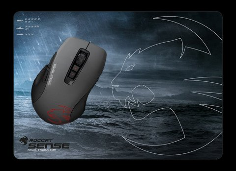 Combo Chuột + Lót Roccat Kone Pure  Naval Power Pack