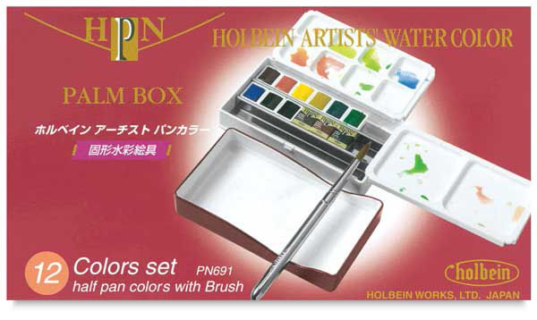 JC-000604S12_Holbein_Artist watercolor half-pan_set 12_03