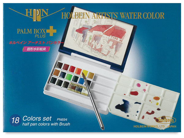JC-000604S18_Holbein_Artist watercolor half-pan_set 18_05