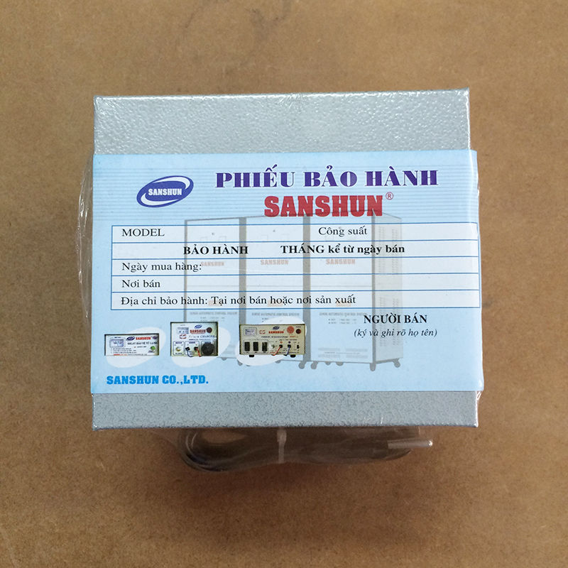 VE000101_Sanshun_chuyen dien eletric transformer_04