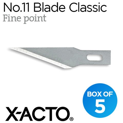Lưỡi dao X-acto no.11 Classic (fine point)