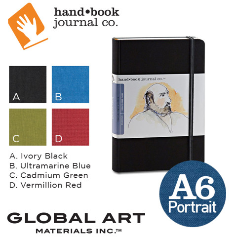 Sổ ketchbook Hand Book Artist Journals, khổ A6 - Portrait