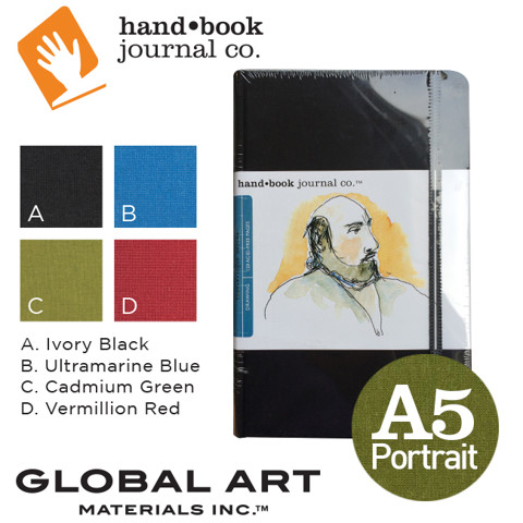 Sổ ketchbook Hand Book Artist Journals, khổ A5 - Portrait