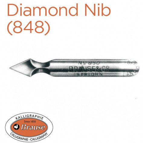 Ngòi Brause Diamond (848)