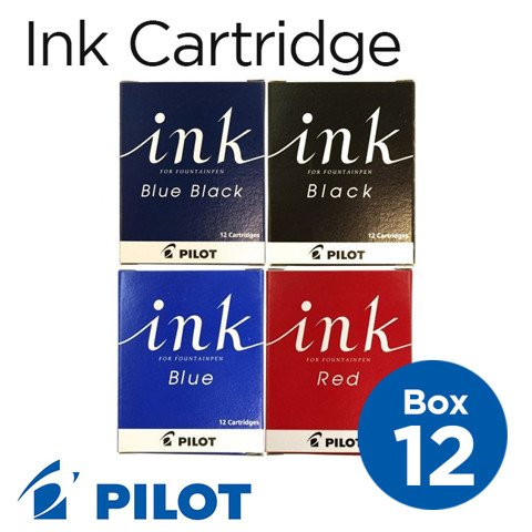 Mực ống cartridge Pilot INK, hộp 12 ống