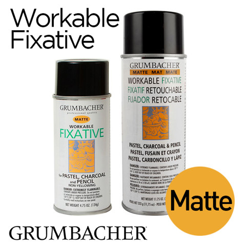 Keo xịt Grumbacher Workable Fixative - Matte