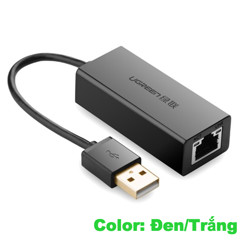 Cáp USB to LAN 10/100 Ugreen 20253/20254