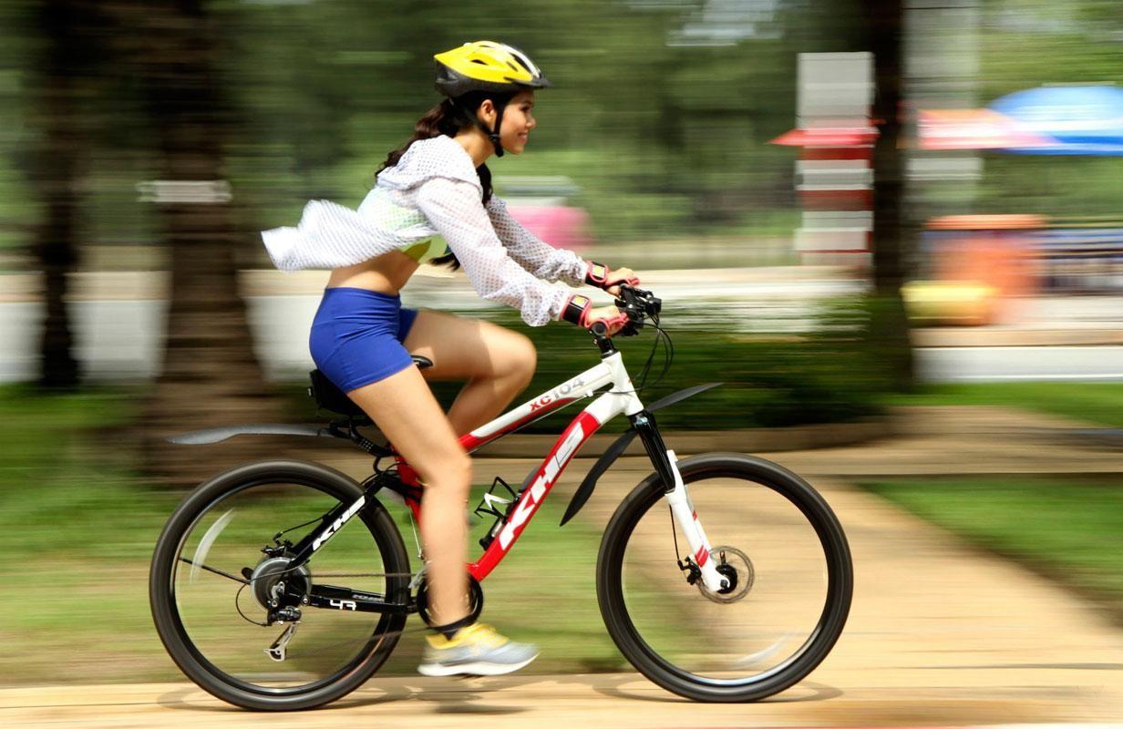 Đạp xe đạp tăng chiều cao