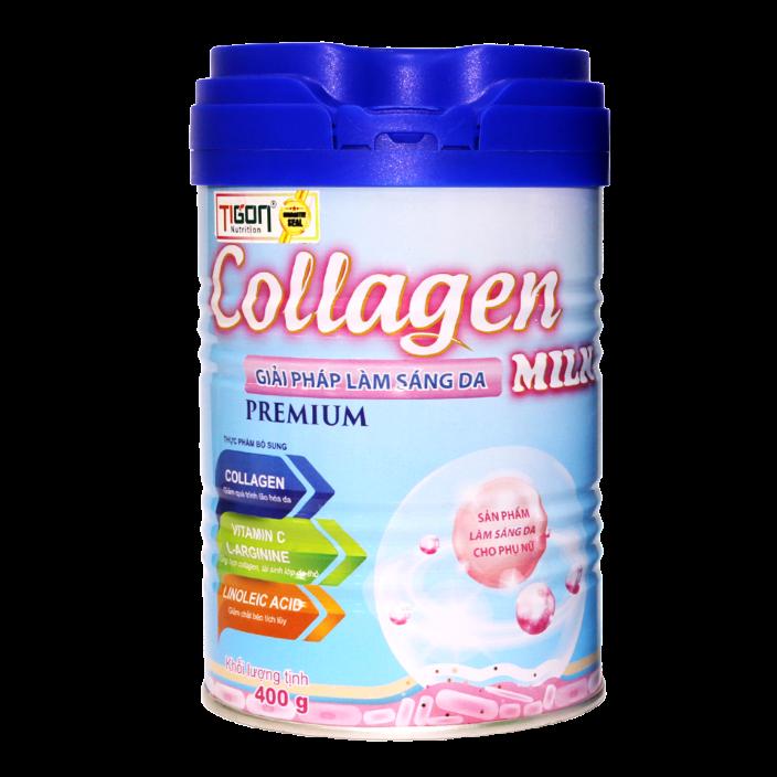 Collagen Milk giúp trắng da giảm cân thân hình hoàn hảo