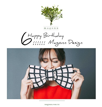 HAPPY 6TH BIRTHDAY MAGONN DESIGN