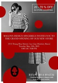 MAGONN 15/11 TRUNG HOA - GRAND OPENING ON 12/05/2015 !!!