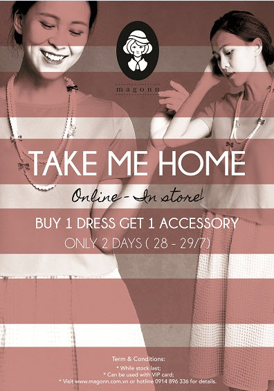 TAKE ME HOME !!! BUY 1 DRESS GET 1 ACCESSOR