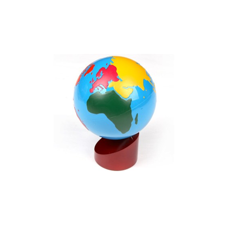 Quả địa cầu 2<br>Globe Of The World Parts
