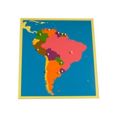 Ghép hình Nam Mỹ <br> NEW South America Puzzle Map