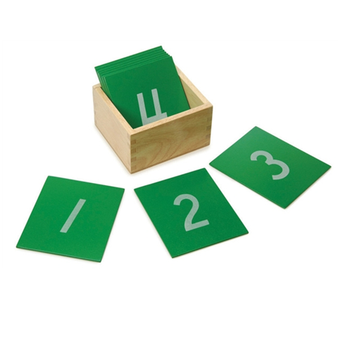 Số nổi giấy nhám<br>Sandpaper Numbers with Box