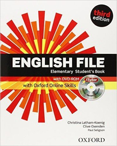 English File, 3rd Edition Elementary: Student's Book & iTutor & Online Skills Practice Pack