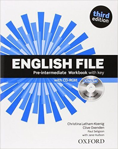English File, 3rd Edition Pre-Intermediate: Workbook & iChecker with Answer Booklet